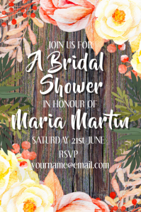 Bridal Shower Invitaton Invite