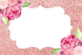 Bridal Shower Party Frame