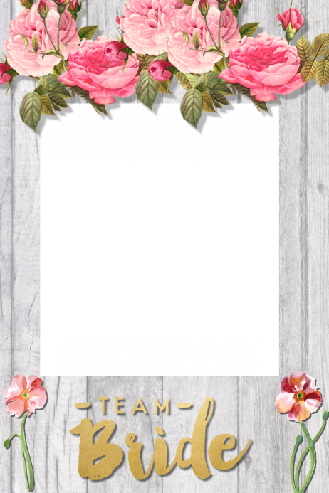 Bridal Shower Party Prop Frame