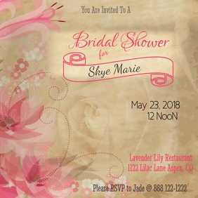 Bridal Shower Video