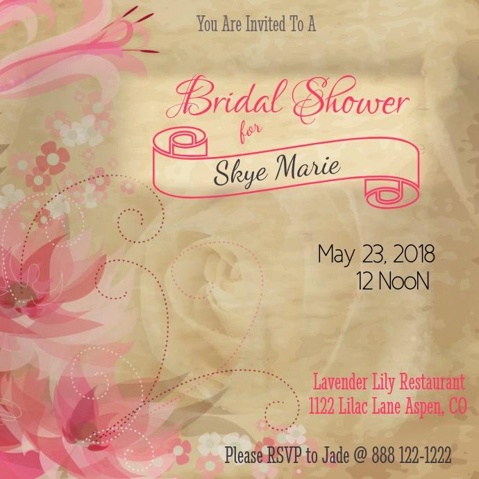 Bridal Shower Video