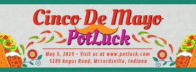 Bright Cinco de Mayo Potluck Banner