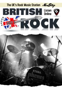 British Rock Poster