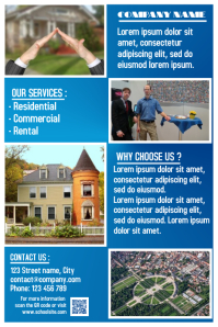 Customizable Design Templates For Property Management PosterMyWall - Property management brochure templates