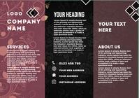 brochure template A5
