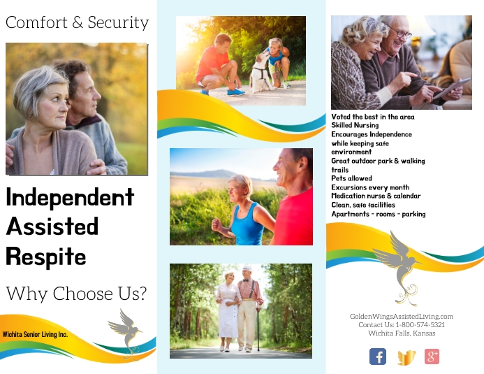 brochures/flyers/templates/assisted living Løbeseddel (US Letter)