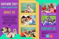 brochures/kindergarten/daycare/school/poster template