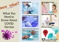 brochures templates/health/hospital/covid-19 A4