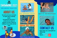 brochures/waterpark/dayswim/summer/pools Poster template