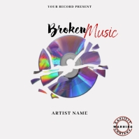 Broken Music Mixtape/Album Cover A