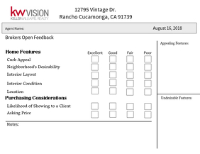 Brokers Open Feedback Form