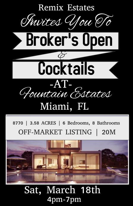 Brokers Open House