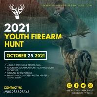 Brown Animal Hunting Instagram Video Template Instagram-opslag