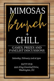 Brunch + Chill Party