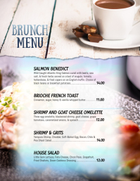 Brunch Menu Specials Flyer