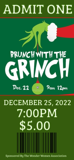 Brunch with the Grinch Geofilter Snapchat template