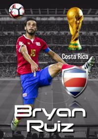 Bryan Ruiz Poster