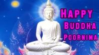 Buddha Poornima Publicación de Twitter template