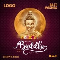 Buddha Purnima 2021 Template