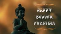 Buddha Purnima Publicación de Twitter template