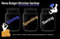 budget seminar/home finances/presupuesto