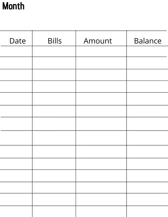 Budget Spreadsheet Template Postermywall