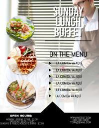Buffet / Food/ Restaurant Flyer Template