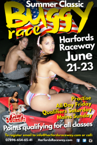 Bugy Race Poster template