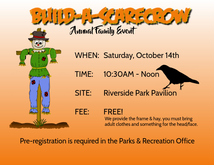 build a scarecrow template postermywall