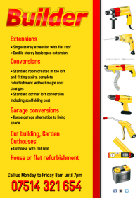 Builder Business Flyer