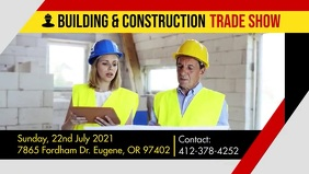 Building and Construction Trade Show Banner template