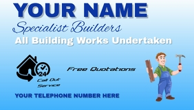 Building company Business Card