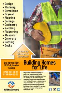 Building Company Flyer