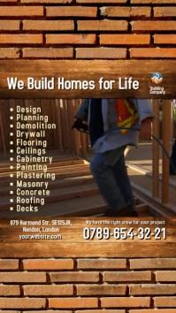 Building Company Instagram Video