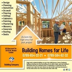 Building Company Template