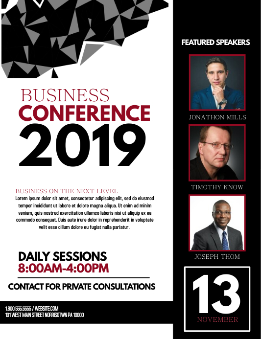 buiness conference