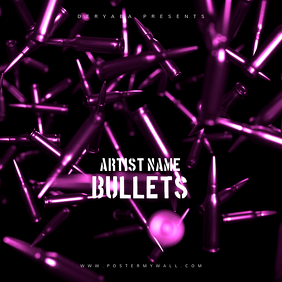 Bullets CD Cover Art Template