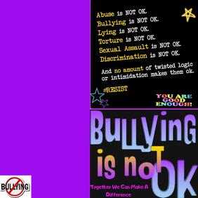 Bullying Is Not Ok