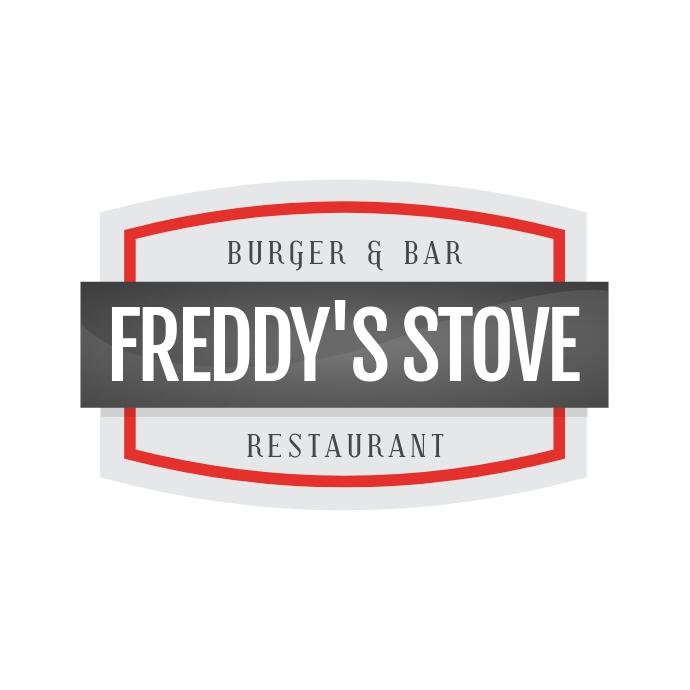 Burger & Bar Restaurant Logo template