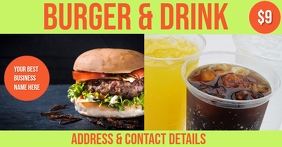 burger & drink combo
