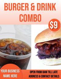burger & drink combo