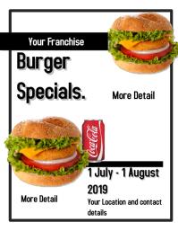 Burger Ad Flyer