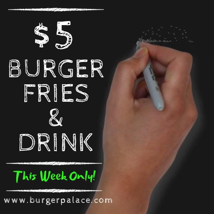 Burger Bar Promo Video