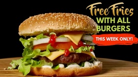 Burger Bar Video Ad Template