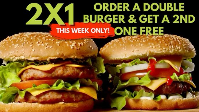 Burger Bar Video Ad Template