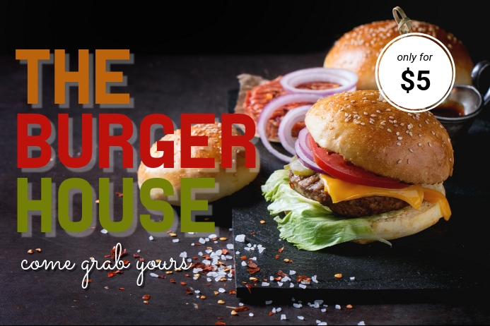 Burger Business Poster