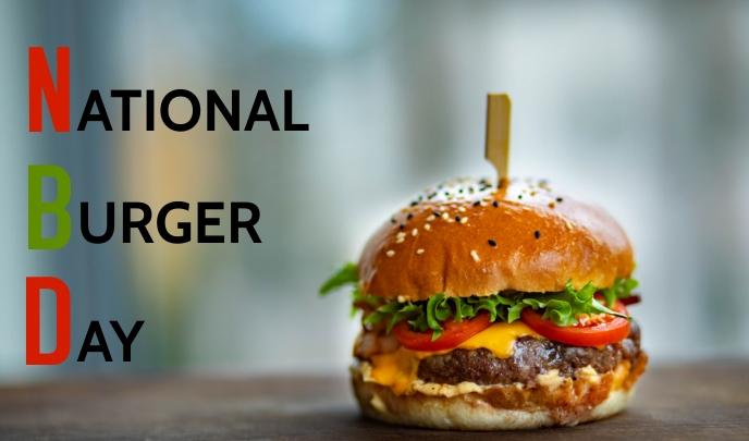 Burger Day Тег template