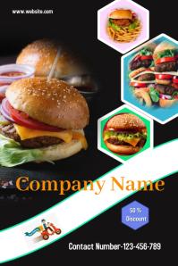Burger Design Iphosta template