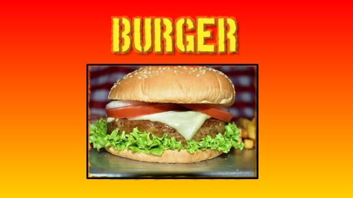burger Umbukiso Wedijithali (16:9) template
