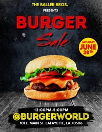 BURGER FLYER TEMPLATE